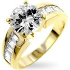 3.95CTW BRILLIANT STONE Antoinette WEDDING ENGAGEMENT RINGS 5,6,7,8,9,10