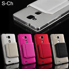 Soft Back Wallet Flip Leather Phone Case Cover For Huawei Ascend Mate 7