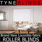 ROLLER BLINDS - straight edge BASIX fabric - made to your exact size.
