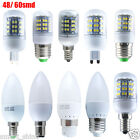 6x 10x 3W 4W E14 E27 B15 B22 G9 LED Candle Light Corn Light Spotlight Lamp Bulbs