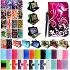 For Various Nokia Lumia Phones Printed Leather Magnetic Flip Case Cover + Stylus