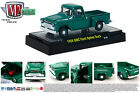 M2MACHINES 1:64 SCALE DIECAST METAL GREEN 1958 GMC SHORT BED TRUCK