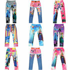 Fashion Girls' Colorful Skinny Leggings Casual Kid's Stretchy Pants Trousers New