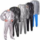 HEAVY DUTY SWEAT SAUNA SUIT EXERCISE GYM SUIT FITNESS WEIGHT LOSS ANTI-RIP 5SIZE