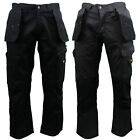 "Dewalt Mens Low Rise PolyCotton Multi-Pocket Work Trousers 30 to 42 - 31""/33""Leg"