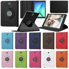 """360 Degree Rotating PU Leather Case For 8.0"""" Samsung Galaxy Tab S2 T715 Tablet"""