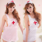 Sexy Lingerie Seductive Teddy Dress Babydoll Nurse Cosplay Fancy