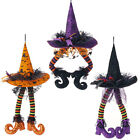 Witch Legs and Hat Hanging Halloween Decoration 23in h3416027 NEW RAZ 3 colors!