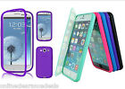 Slim Flip TPU Wrap Up Touch Screen Case Cover for Apple iPhone & Samsung phones