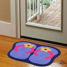New Slippers Pattern Door Mat Simple Personalized Living Room Non-slip Carpet