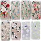 Cute Fruit Pineapple Flowers Clear TPU Soft Case Cover Skin For iPhone  Samsung