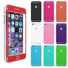 Front Back Skin Sticker Full Body Decal Case Cover for iphone 6/6 Plus FREE Flim