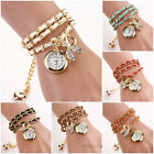 New Fashion Women Quartz Watches Rhinestone Butterfly Bracelet Analog Wristwatch