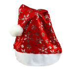 2015 New Christmas Holiday Xmas Cap For Santa Claus Gifts Nonwoven Hat Promotion
