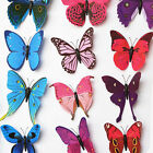 12pcs Art Decal Home Wall Stickers 3D Butterfly Sticker Kids Room Nursery Decor