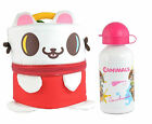 Canimals Shaped Insulated Lunch Bag and Drinks Aluminium Drinks Bottle Set, Kids