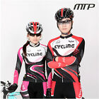 Spouse's Cycling Bike Long Sleeve Sports Clothing Bicycle Coolmax Jersey+Pants