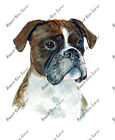 Boxer Dog Lover Home Office Camp Decor Decal Sticker Art Gift Stocking Stuffer