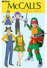 McCall's 7214 Sewing Pattern to MAKE Minions or Ninja Turtles Dress-Up Costumes