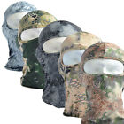 Snake Camouflage Camo Balaclava Tactical Motorcycle Ski Cycling Full Face Mask