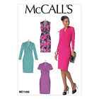 McCall's 7186 Sewing Pattern to MAKE Stretch Knit Pullover Dresses Sleeve Vari