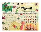 *NPW Over 80 Art NAIL STICKERS Decals/Appliques MEOW+STARS+MORE *YOU CHOOSE*