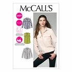 McCall's 6436 Sewing Pattern to MAKE Easy Blouse/Shirt in Cup Sizes