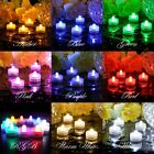 Tealight  LED Flameless Submersible Waterproof Wedding Decor Party Optional Qty