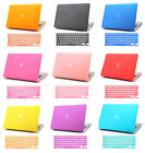 """Hard Rubberized Case + Keyboard Cover for MacBook Retina 12"""" inch A1534 New 2015"""