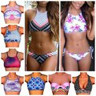 Sexy Womens Bandage Bikini Set Push Up Padded Bra Swimsuit Swimwear Bathers FO