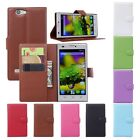 New Flip Leather Wallet Stand Case Cover Skin For ZTE Blade L2 L3 S6 Smartphone