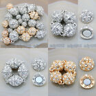 5 Set Crystal Rhinestone Strong Magnetic Connector Clasp For Bracelet Necklace