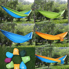 New Canvas Garden Hammock Outdoor Camping Portable Travel Beach Fabric Swing Bed