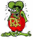 Rat Fink Vinyl Decal / Sticker ** 5 Sizes **