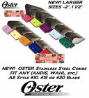 OSTER STAINLESS STEEL A5 Attachment Guard COMB*Fit Most Andis,Wahl Clipper&Blade