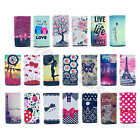 Colored Universal Case For Samsung Sweet Painting Leather Card Protector Cover(A