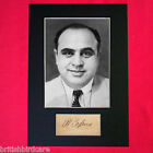 AL CAPONE Gangster RARE Quality Signed Autograph Mounted Photo PRINT A4
