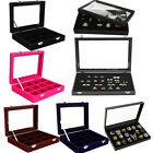 Ring Jewellery Necklaces Earrings Bracelets Display Storage Case Box Organizer