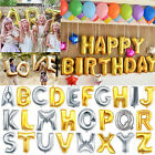 Mylar Foil Balloon Letters Alphabet Gold Silver for Wedding Birthday Party Decor