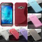 S/ Matte Soft TPU Gel Silicone Case Cover For Samsung Galaxy Xcover 3 SM-G388F