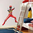 Power Rangers Dino Charge Red Decal Removable Graphic Wall Sticker Decor Art