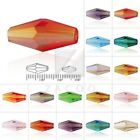 72/50pcs Crystal Beads Double Cone Jelelry Making 8/12mm