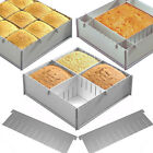 Alan Silverwood Silver Anodised Aluminium  Multisize Cake Pan Or Dividers