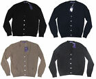 $1,095 Ralph Lauren Purple Label Mens Italy Cashmere Button Cardigan Sweater New