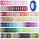 "Satin Ribbon 25 50 Yard Roll 1/8"" 1/4"" 3/8"" 5/8"" 3/4"" 1"" 3/2"" 2"" Wedding Favor"