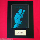 IAN CURTIS Joy Division Signed Autograph Mounted Photo Reproduction PRINT A4 579