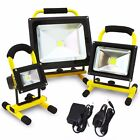 Portable 50W 20W 10W COB  Super Bright LED Work Light Rechargeable Flood Lights