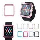 Hard Plastic Guard Bumper Protector Case Cover For Apple Watch iWatch 38/42mm