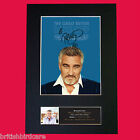 PAUL HOLLYWOOD Great British Bake Off Signed Autograph Mounted PRINT A4 591