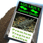 Aquariux Tropical catfish pellets 2,4,6,8mm sinking premium high protein feed